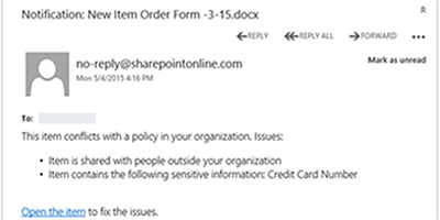 DLP Email Notification 600x300