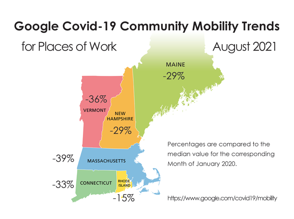Google Community Mobility Trends 2021