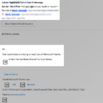 Phishing-email-scams-Teams-urgency-notification